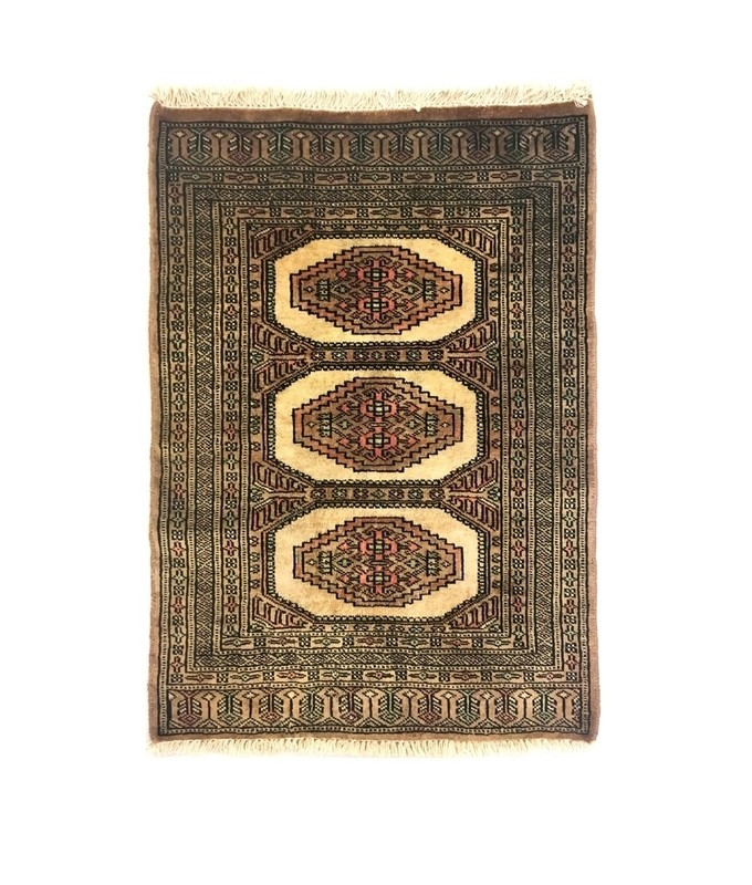 fadf316638d6 Bukhara Hand Knotted Accent Wool Rug - The Knots   Crafts Co.The ...