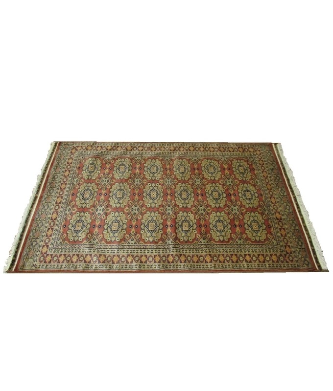 c55f94082dbf Bukhara Hand Knotted Wool Rug - The Knots   Crafts Co.The Knots ...